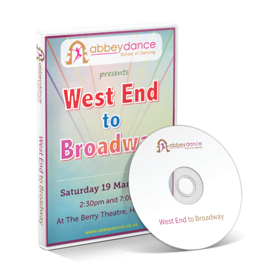 Abbey Dance - West End to Broadway DVD