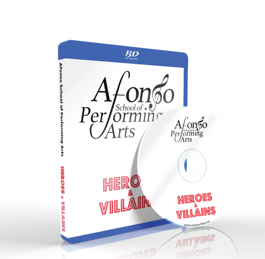 Afonso School Of Performing Arts - Heroes and Villains Blu-ray