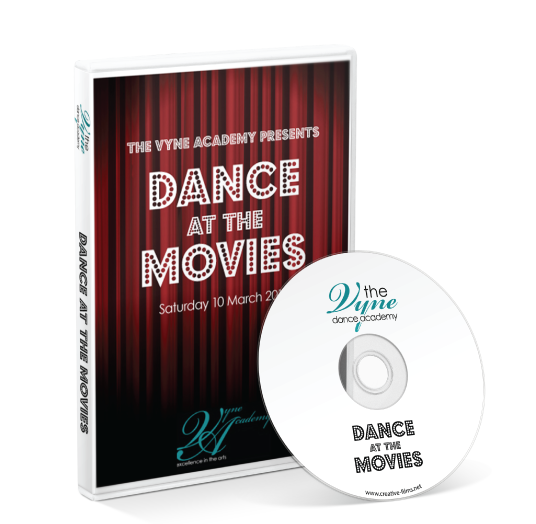 The Vyne Academy - Dance at the Movies DVD
