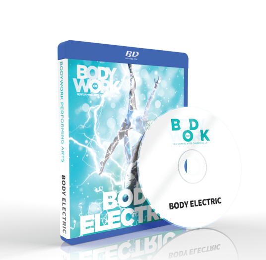Bodywork Company Dance Studios - Body Electric Blu-ray