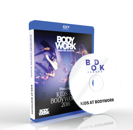 Bodywork Company Dance Studios - Kids At Bodywork  Blu-ray