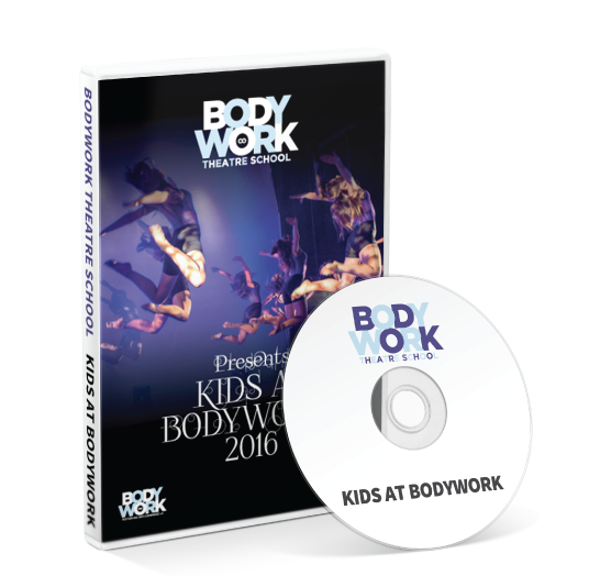 Bodywork Company Dance Studios - Kids At Bodywork  DVD