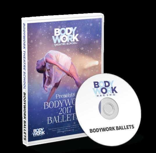 Bodywork Company Dance Studios - Bodywork Ballets DVD