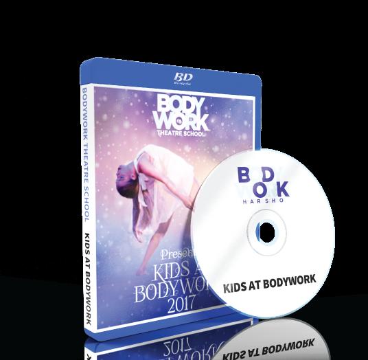 Bodywork Company Dance Studios - Kids & Bodywork Blu-ray