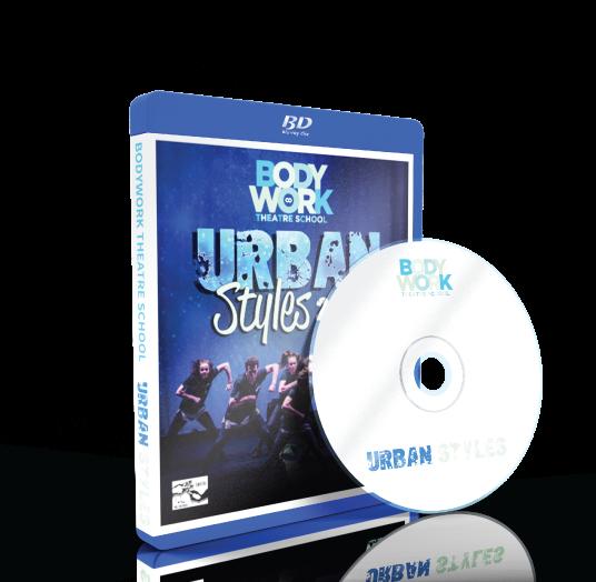 Bodywork Company Dance Studios - Urban Styles 2017 Blu-ray