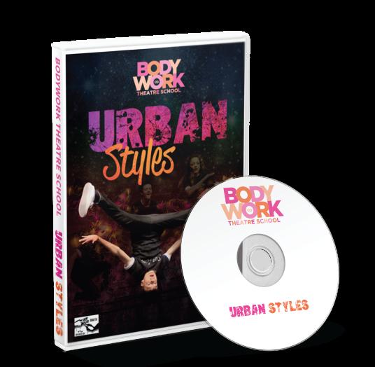 Bodywork Company Dance Studios - Urban Styles 2017 DVD