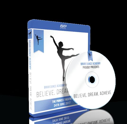 Briar Dance Academy - Believe, Dream, Achieve Blu-ray