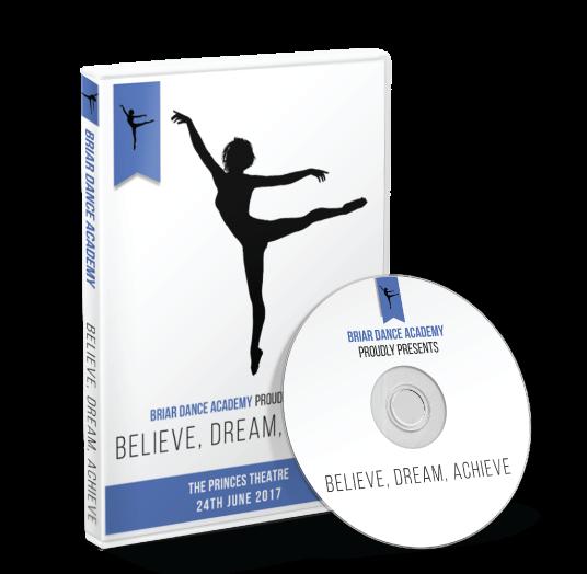Briar Dance Academy - Believe, Dream, Achieve DVD
