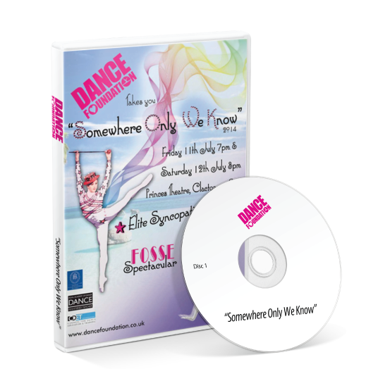 Dance Foundation - Somewhere Only We Know DVD