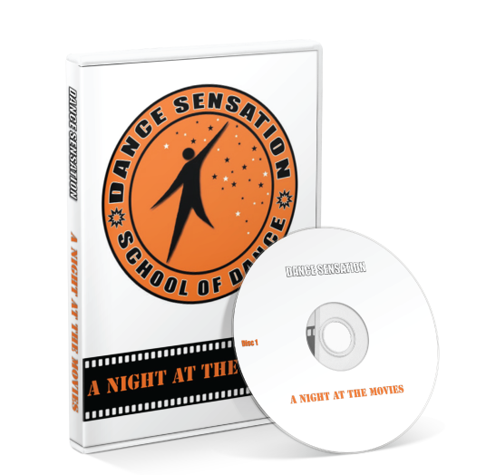 Dance Sensation School Of Dance - A Night At The Movies DVD