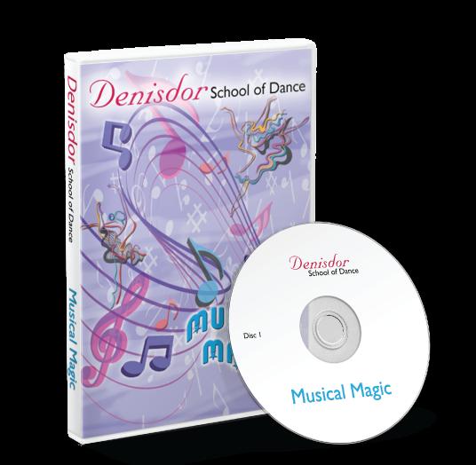 Denisdor School Of Dance - Musical Magic DVD