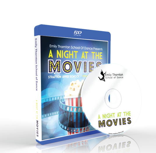 Emily Thornton School of Dance - A Night at the Movies Blu-ray