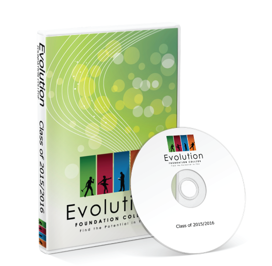 Evolution Foundation College - 2016 Showcase DVD