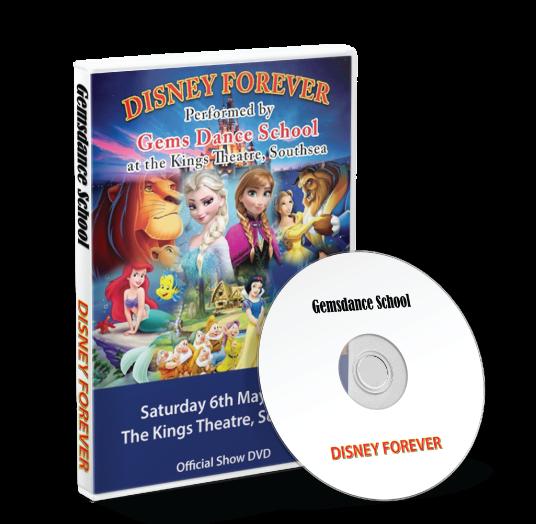 Gemsdance - Disney Forever DVD