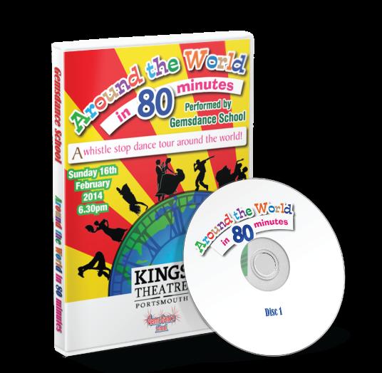 Gemsdance - Around the world in 80 minutes DVD
