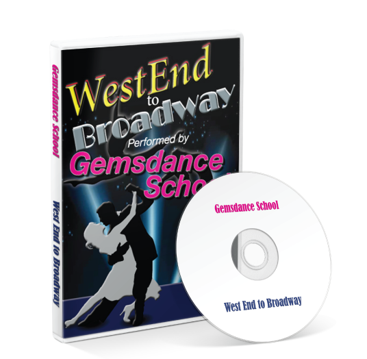 Gemsdance - Westend to Broadway DVD