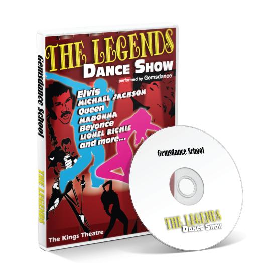 Gemsdance - The Legends Dance Show DVD
