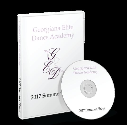 The Georgiana Elite Dance Academy - Summer Show 2017 DVD