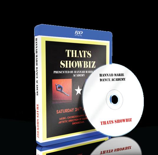 Hannah-Marie Dance Academy - That's Showbiz Blu-ray