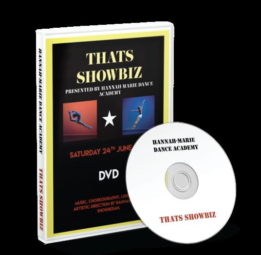 Hannah-Marie Dance Academy - That's Showbiz DVD