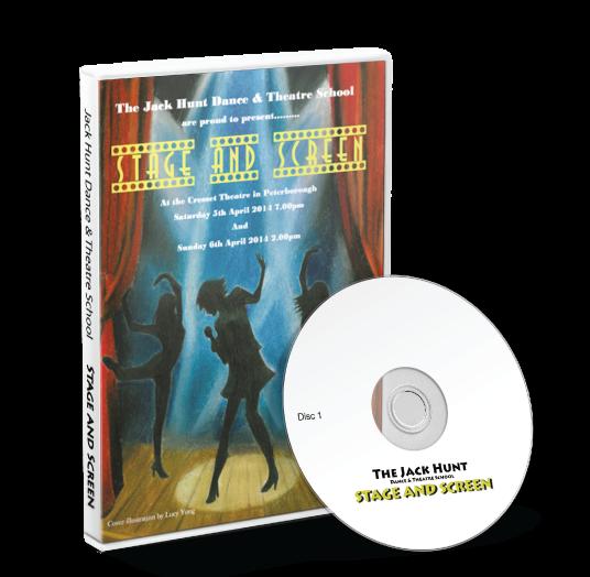 Jack Hunt Dance & Theatre School - Stage & Screen DVD