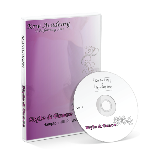Kew Academy Of Performing Arts - Style And Grace DVD