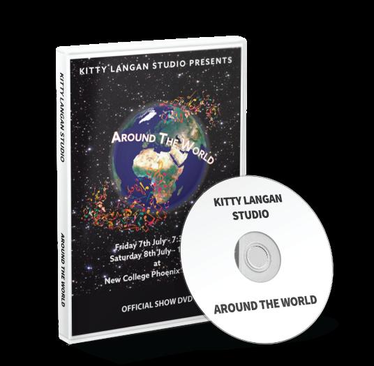 Kitty Langan Studio - Around the World DVD