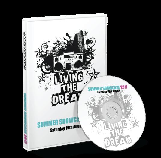 Living the Dream - Summer Showcase 2017 DVD