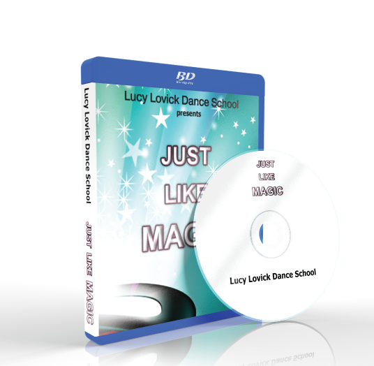 Lucy Lovick Dance School - Just like magic Blu-ray