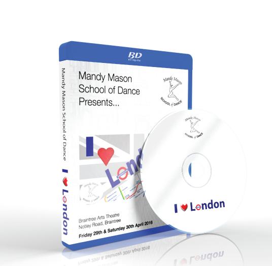 Mandy Mason School Of Dance - I Love London<br /> 30/04/2016 / 19:00