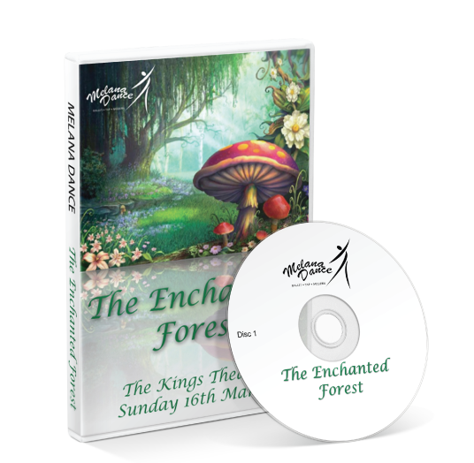 Melana Dance - The Enchanted Forest DVD
