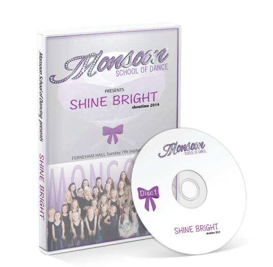 Monsoon School of Dance - Shine Bright DVD