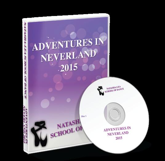 Natasha - Lea School of Dance - Adventures in Neverland DVD