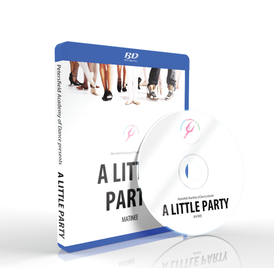 Petersfield Academy of Dance - A Little Party Matinee Blu-ray