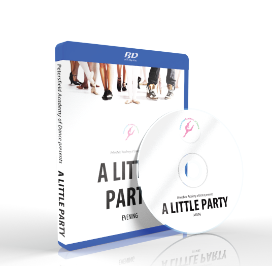 Petersfield Academy of Dance - A Little Party Evening Blu-ray
