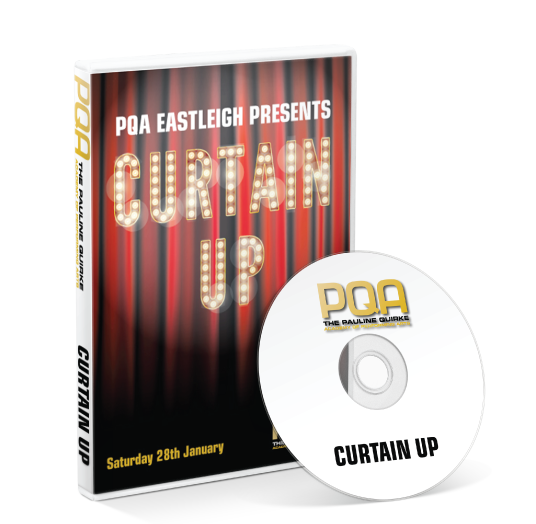 PQA - Eastleigh - Curtain Up DVD