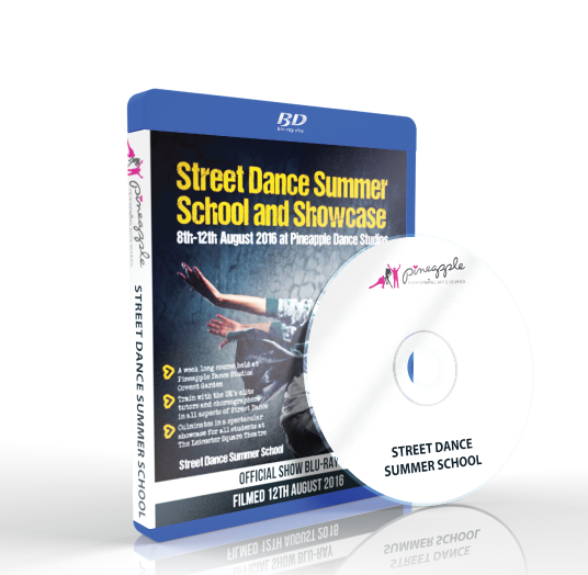 Pineapple Performing Arts School - Street Dance Summer Spectacular Blu-ray