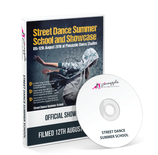 Pineapple Performing Arts School - Street Dance Summer Spectacular DVD