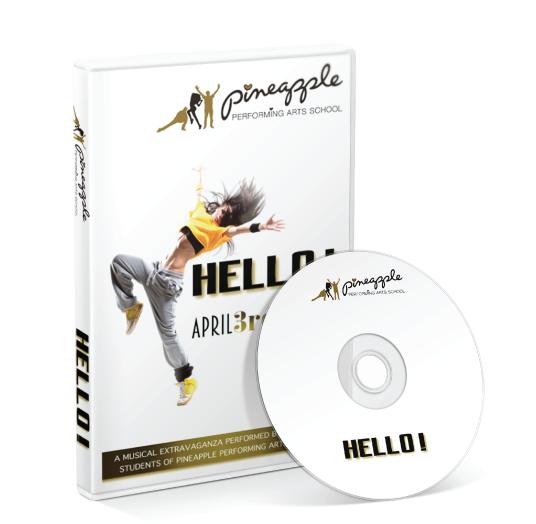 Pineapple Performing Arts School - Hello DVD
