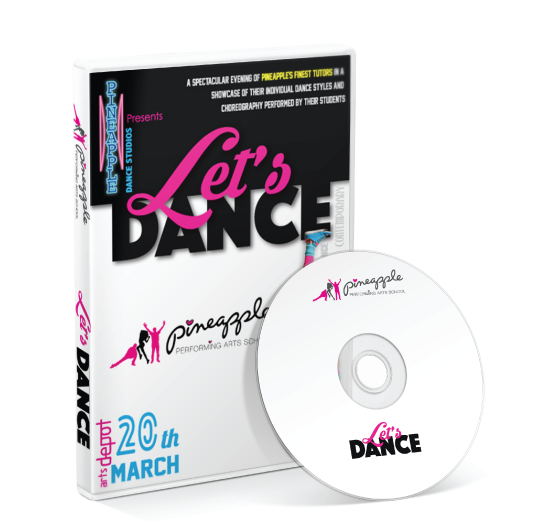 Pineapple Performing Arts School - Lets Dance DVD