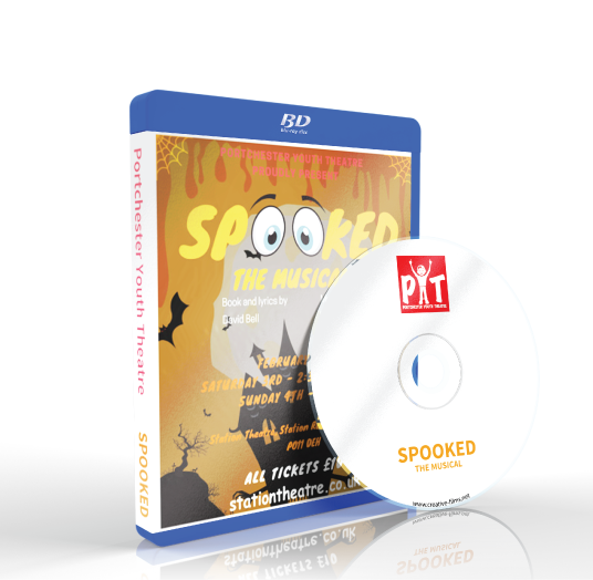 Portchester Youth Theatre - Spooked Blu-ray