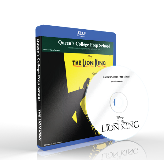 Queen's College Preparatory School - The Lion King Blu-ray