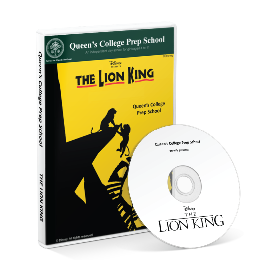 Queen's College Preparatory School - The Lion King DVD