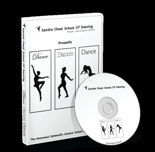 Sandra Cheal School of Dancing - Dance Dance Dance DVD
