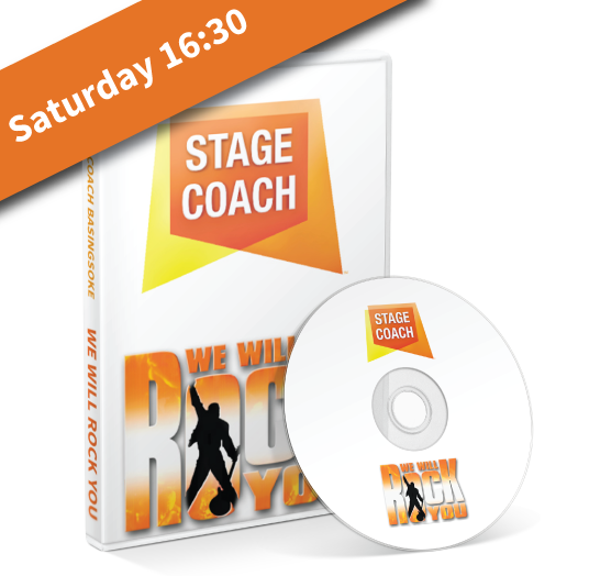 Stagecoach Basingstoke - We Will Rock You - Saturday Afternoon DVD