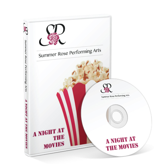 Summer Rose Performing Arts - A Night at the Movies DVD
