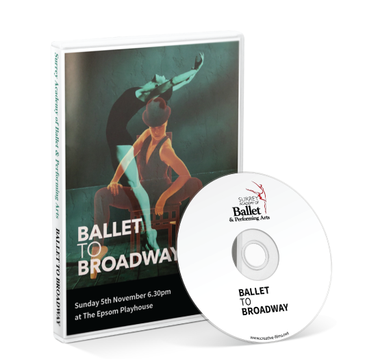Surrey Academy of Ballet & Performing Arts - Ballet to Broadway DVD