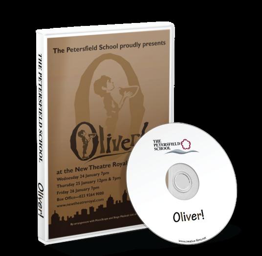 The Petersfield School - Oliver DVD