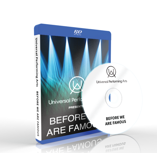 Universal Performing Arts - Before we are famous Blu-ray