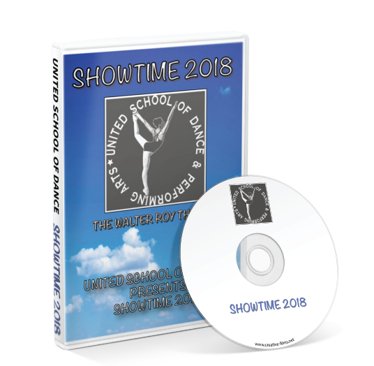 United School of Dance - Showtime 2018 DVD